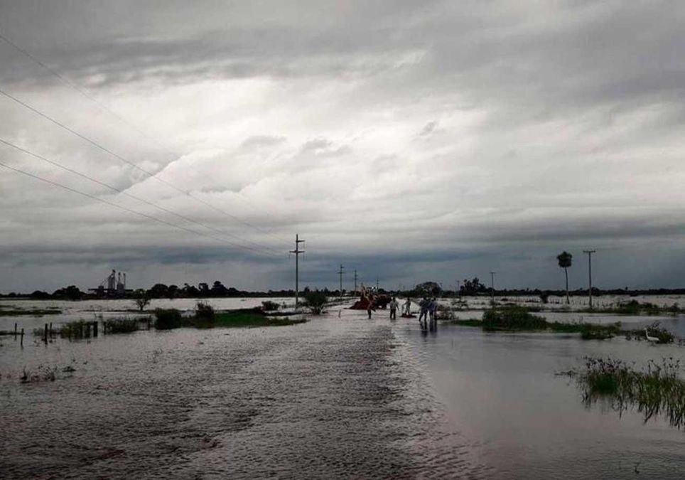 Lluvia Inundación Anegamiento