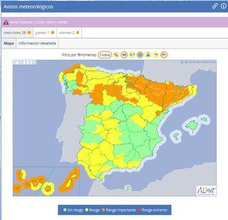 Emma dará un duro golpe a la sequía española