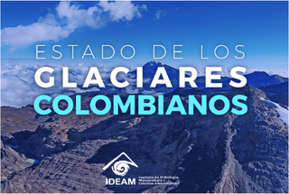 En dos años el Volcán Nevado Santa Isabel perdió el 37 por ciento de su área