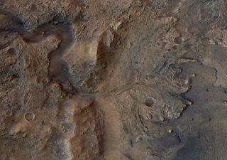 ¿Fue el cráter Jezero un lago donde existió vida en Marte?
