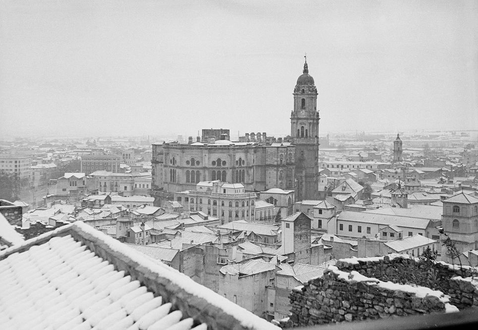 Nevada en Málaga en 1954