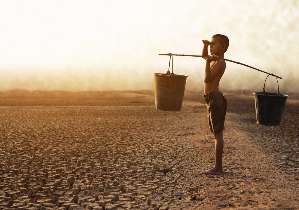 Escassez de água potável