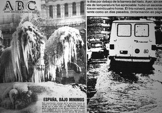 Enero de 1985: la ola de frío más extensa de las últimas décadas