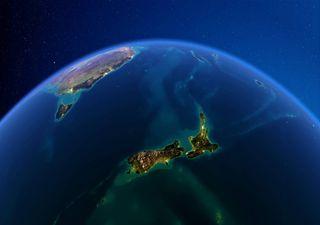 Enorme y sorprendente 'bolsa' de agua caliente en el Pacífico Sur