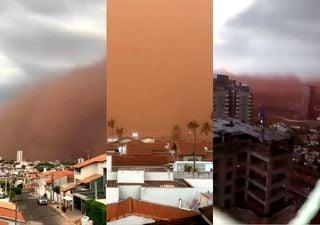 Entenda a tempestade de poeira que assustou São Paulo