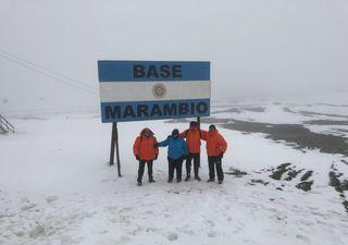 Entrevista: meteorología espacial por argentinos en la Antártida