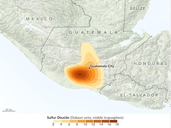 Erupción Mortal En Guatemala: Fuego