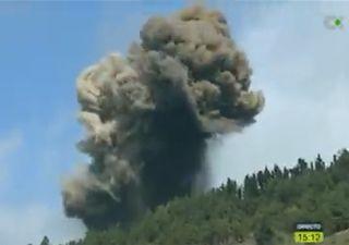 Vulcão nas Ilhas Canárias entra em erupção!