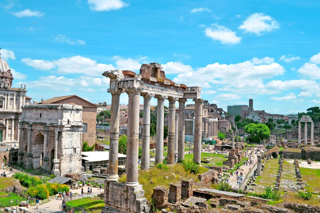 El Imperio Romano vio temblarse cuando un volcán entró en erupción a miles de kilómetros de distancia. Imagen de Roma vía PXHERE