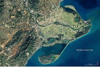 Esculpiendo el Delta del Ebro: su historia pasada, presente y futura