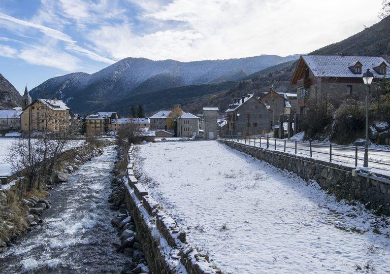 Frío nieve España
