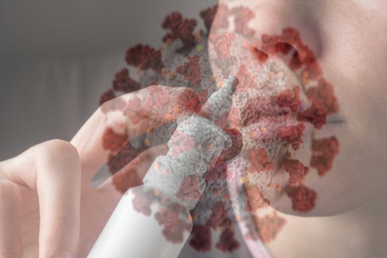 Espray nasal para reducir la entrada de coronavirus por la nariz