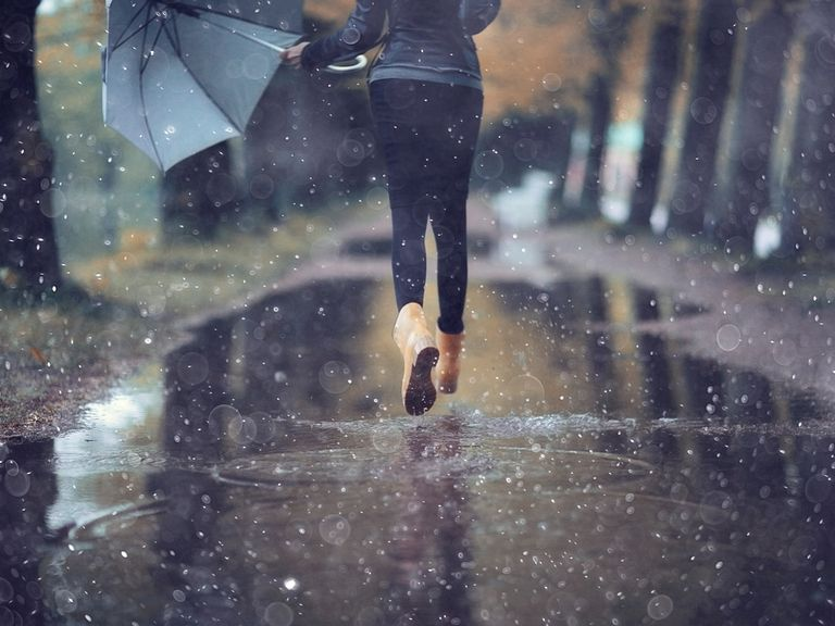 otoño lluvia