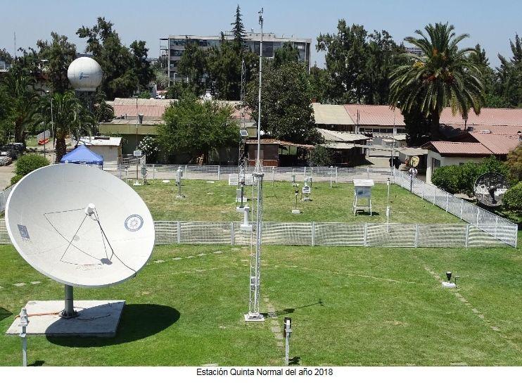 Estación De Observación Centenaria En La Dirección Meteorológica De Chile