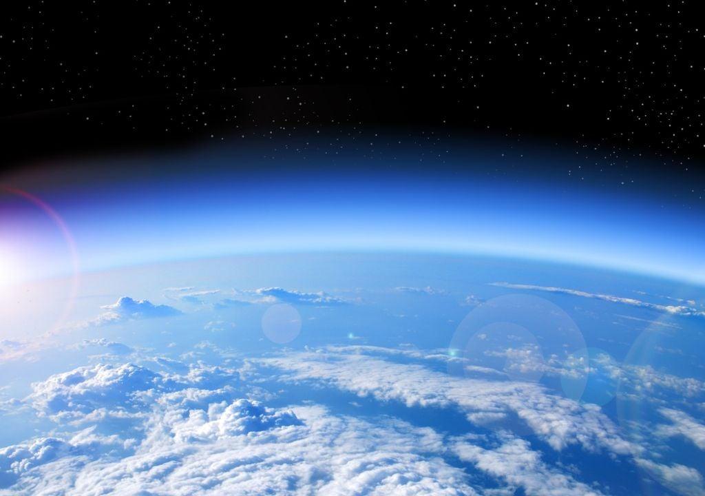 Oxigeno Tierra planeta atmósfera