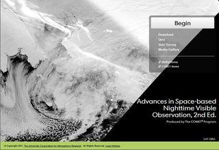 Estructuras atmosféricas y superficiales nocturnas observadas desde satélites especiales