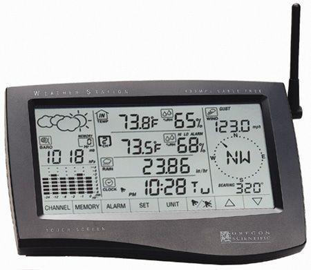 Estudio Comparativo De Las Estaciones Meteorologicas Digitales Oregon Scientific Wmr 928 Y Davis Vantage Pro