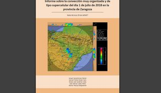 Estudio de una supercélula en Zaragoza: Nota técnica 29 de AEMET