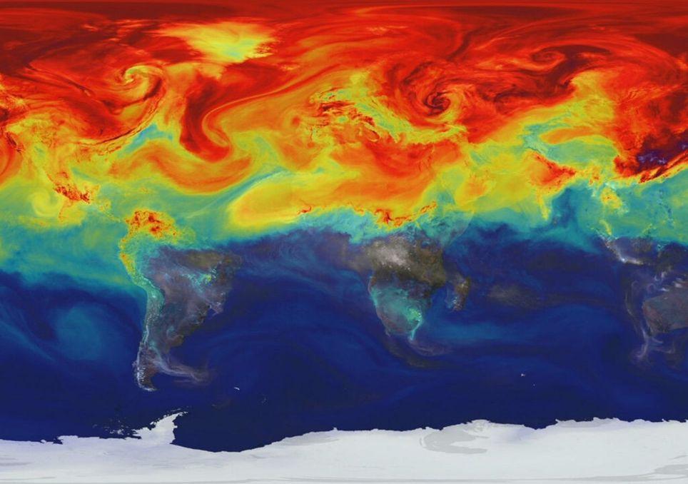 Os humanos desequilibram o balanço de energia da Terra