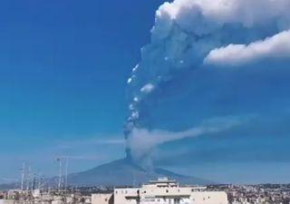 Etna : 12ème éruption volcanique, des images impressionnantes !