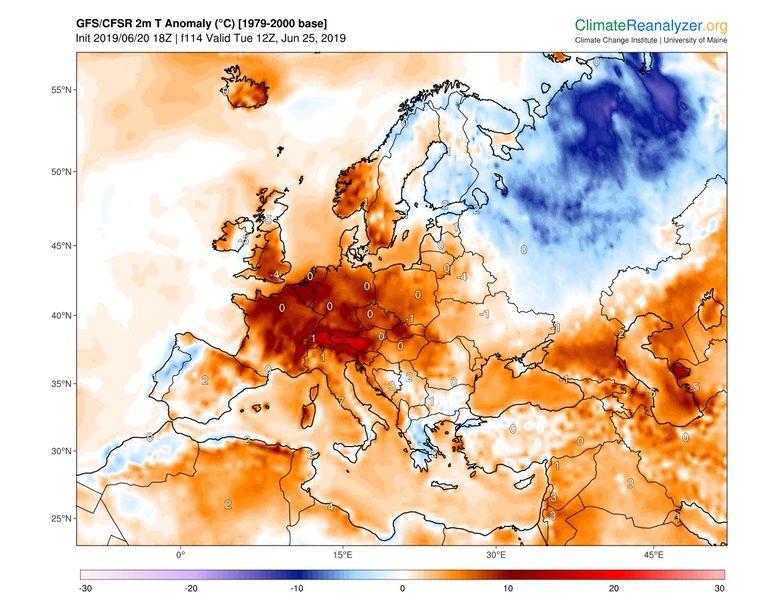 La primera ola de calor del verano llega el miércoles