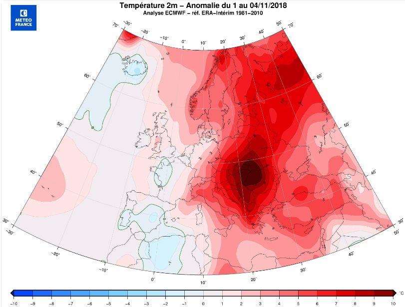Europa Central: Récord De Temperaturas Agradables
