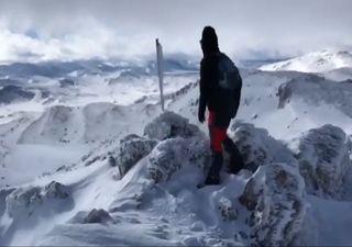Europa arranca 2021 em alerta para impressionante tempestade de neve