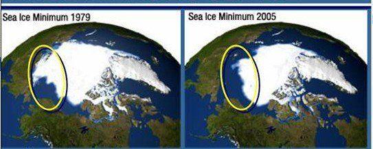 Evolución Del Hielo Marino En El ártico