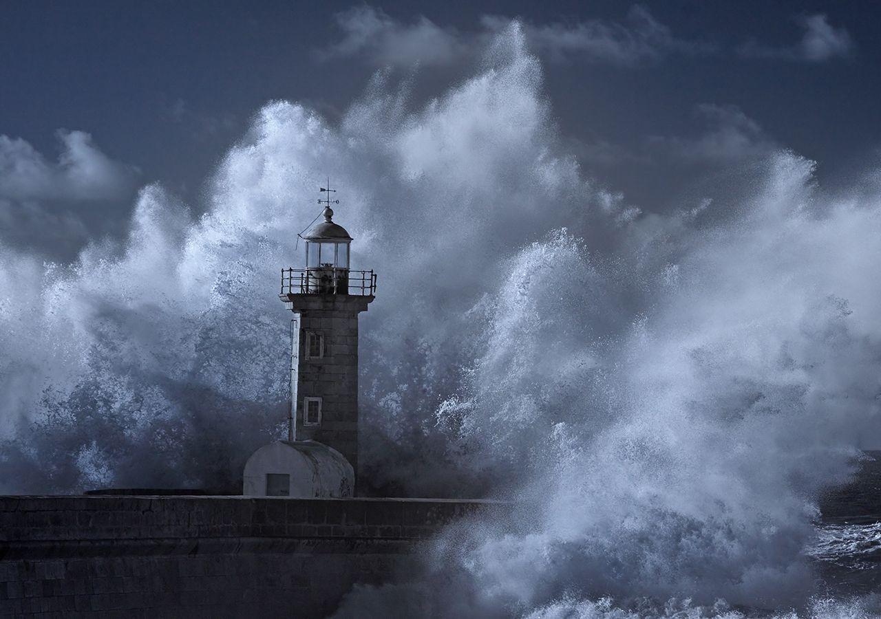 """Ciclogénesis explosiva: """"el viento huracanado puede causar estragos"""""""