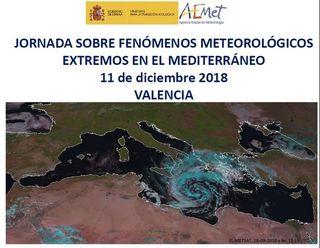 Expertos hablan en la Jornada sobre fenómenos meteorológicos adversos en el Mediterráneo