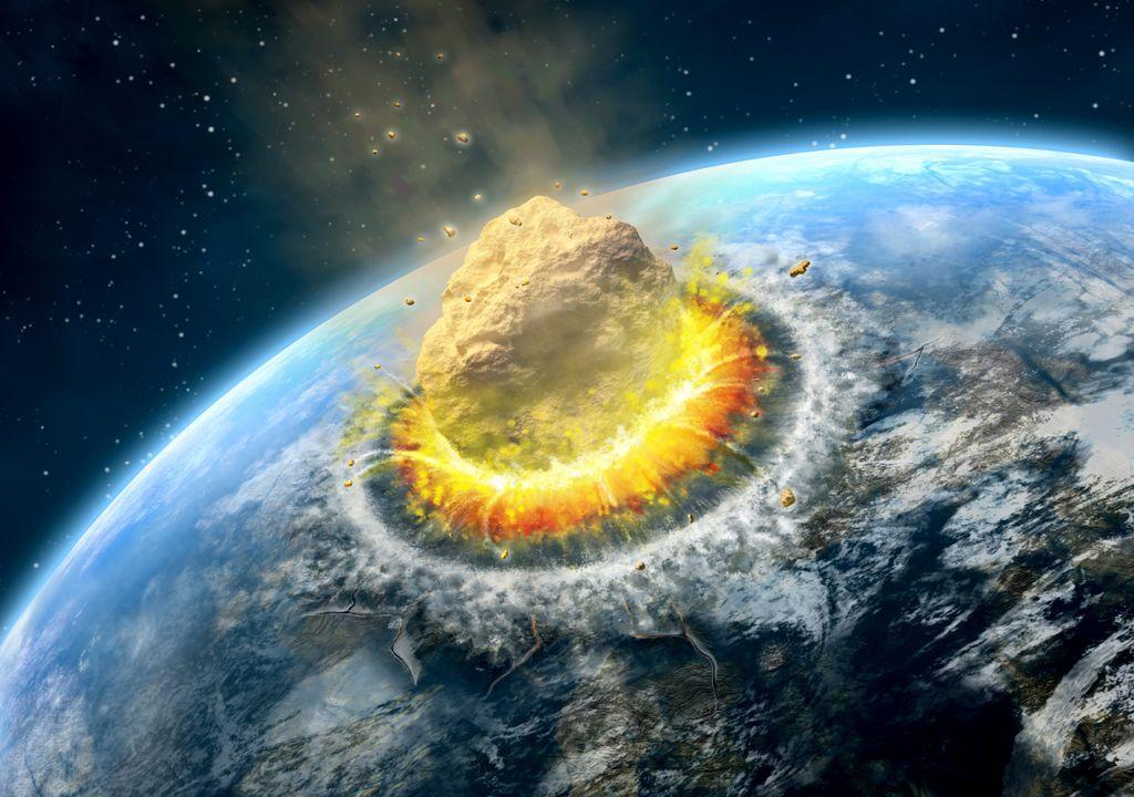 meteoro; impacto; Terra