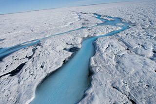 Explosión microbiana como consecuencia del deshielo de Groenlandia