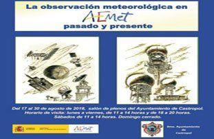 """Exposición """"La observación meteorológica en AEMET, pasado y presente"""""""