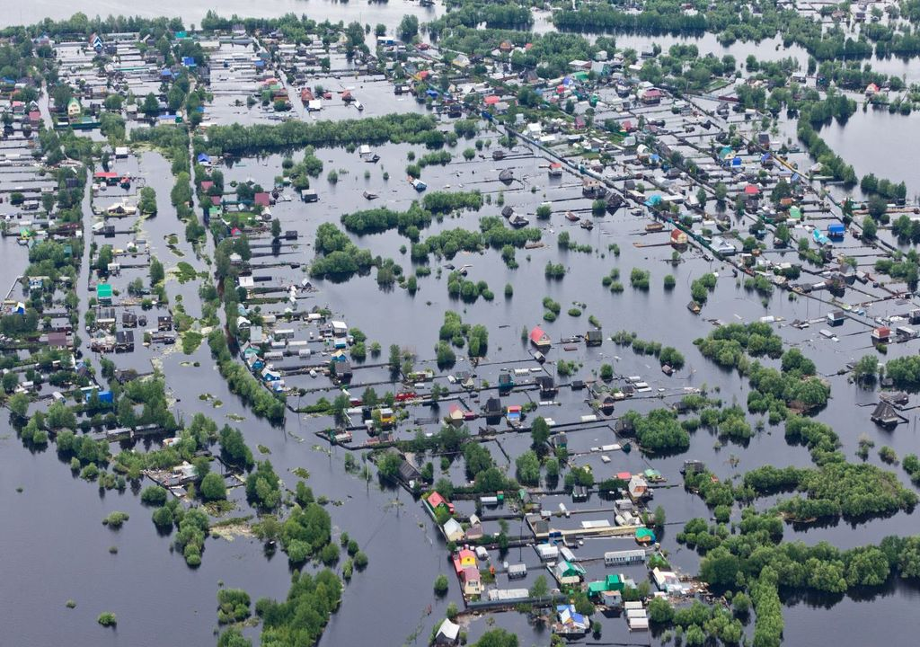 Floods and storms caused the largest economic losses in the past 50 years in Europe