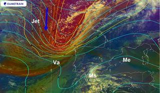 Factores meteorológicos asociados a las tormentas del 15 de marzo 2020
