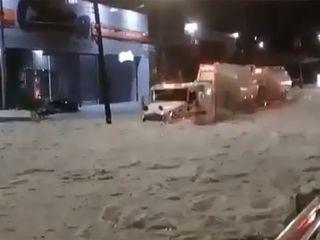 Factores meteorológicos de la descomunal granizada en México