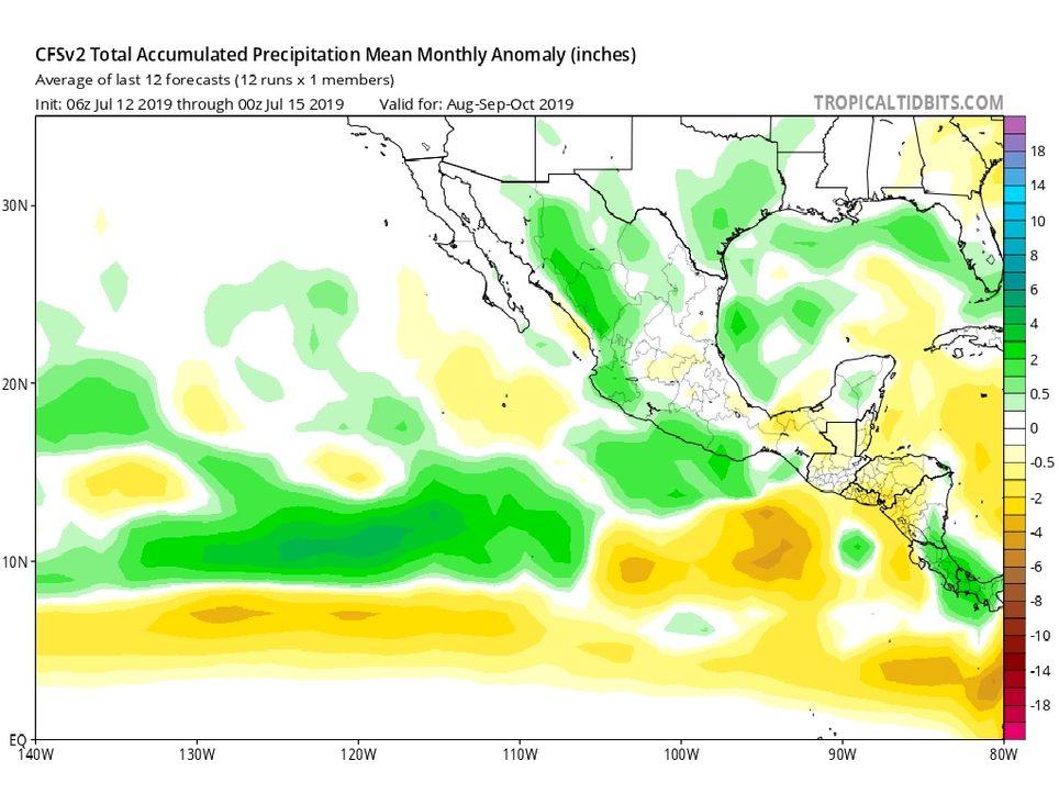 Pronóstico Climático del Modelo CFSv2