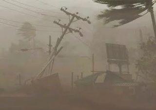 Violenta tormenta azotó en China