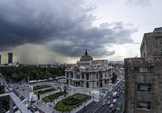 Fiestas patrias con mucha lluvia en México