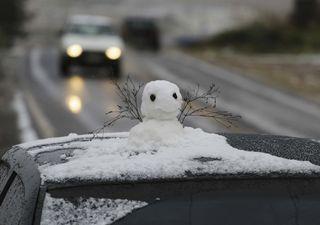 Fim do mês com chance de neve no Sul e de chuva congelante no Sudeste