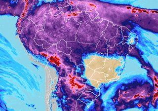 Fim de semana: avanço de frente fria e chuva irregular na Região Sul