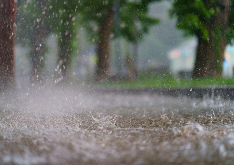 Chuva, alagamentos e temporais