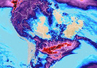 Fim de semana de muita chuva e alertas de tempo severo no centro-sul