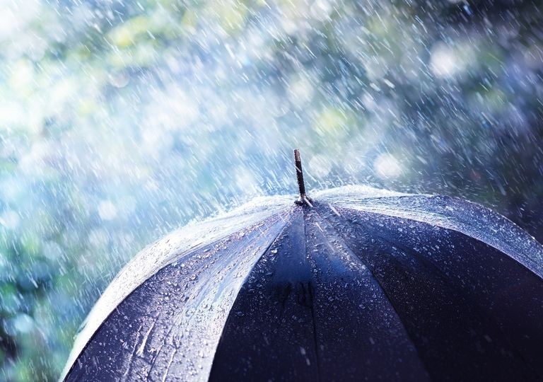 paraguas; lluvia
