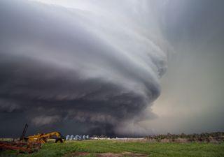 Fin de semana de fuertes tormentas, granizo y viento en México