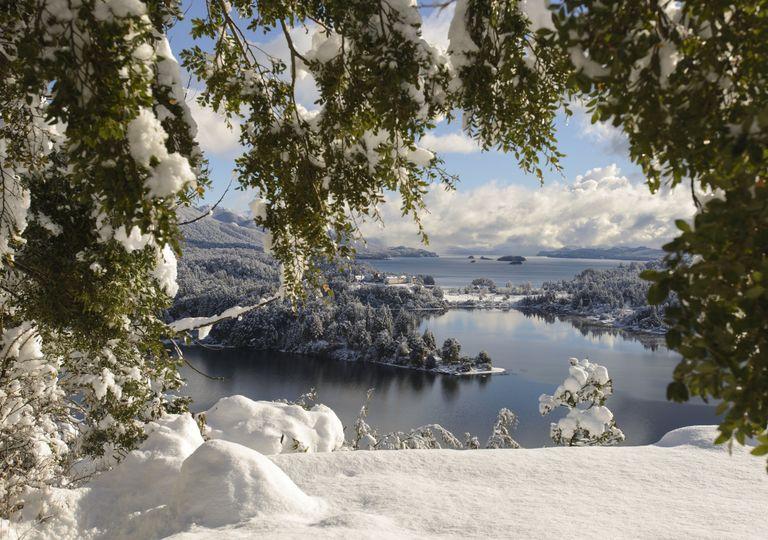 Nieve invierno Bariloche pronóstico