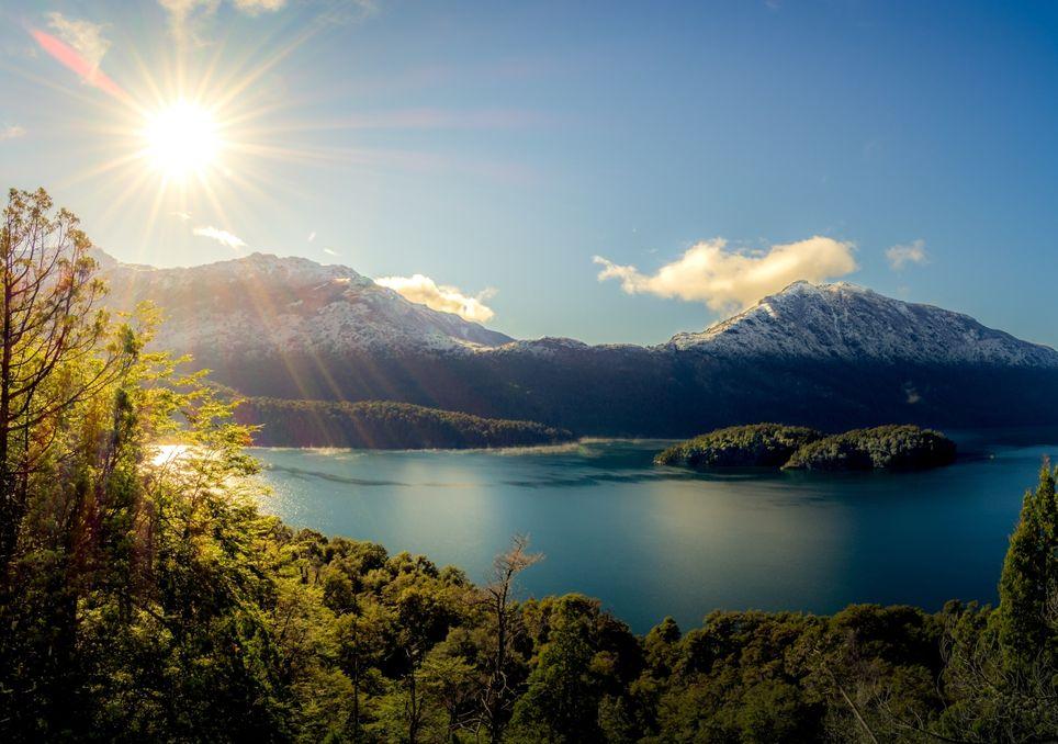 Patagonia alerta vientos ráfagas calor