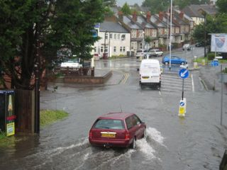Flood risk increasing in Northern Europe, decreasing in the South