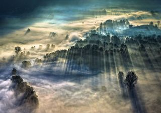 Foggy images shine through in Weather Photographer of the Year contest