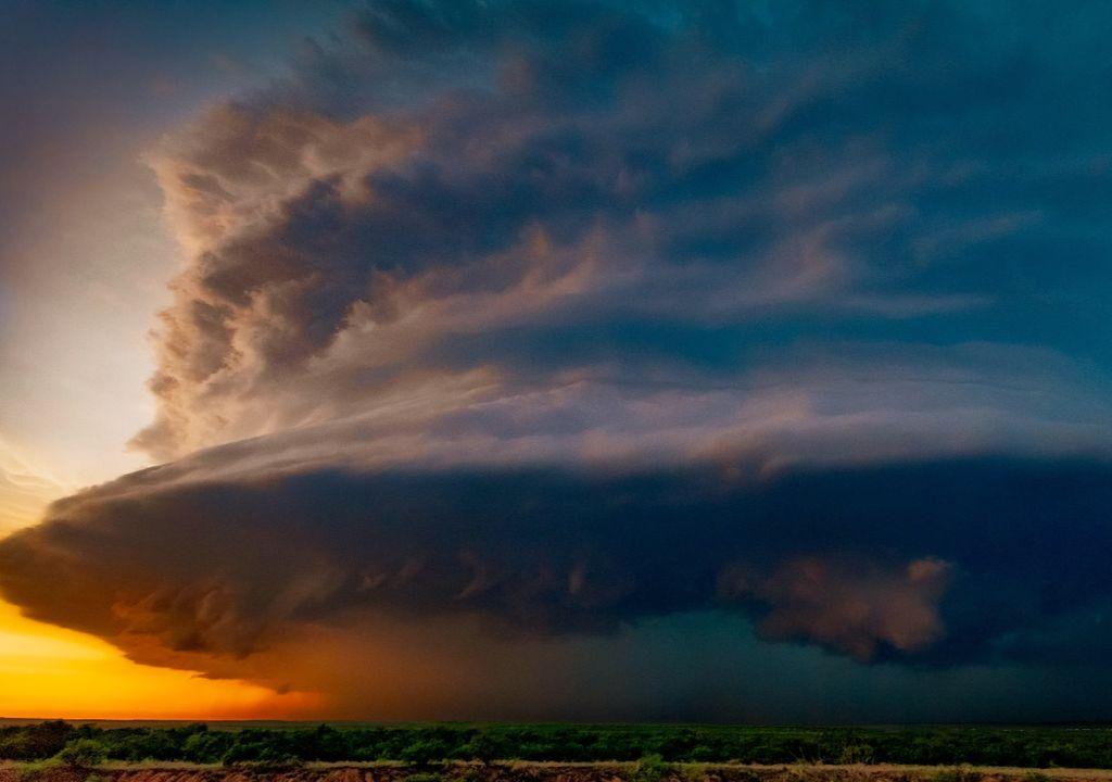 super célula, tempestade, chuvas no Sul